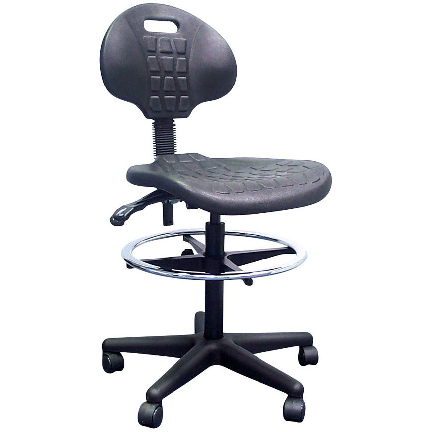 Pu Industrial Drafting Chair Office Way