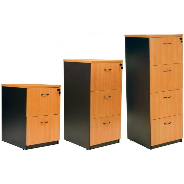 Aspendale wooden filing cabinet