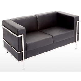 Space PU Lounge twin seater