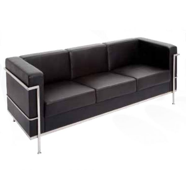 Space PU Lounge 3 seater