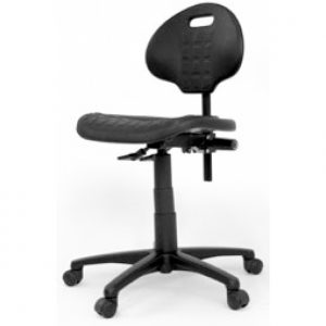 PU Industrial Typist Chair