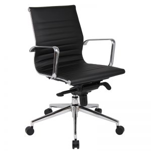 PU605H Milan Medium Back Executive chair