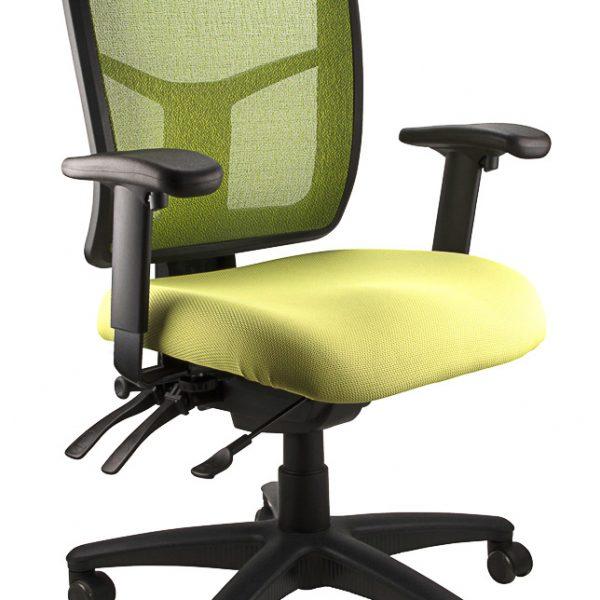 mirae mesh ergonomic office chair olive green