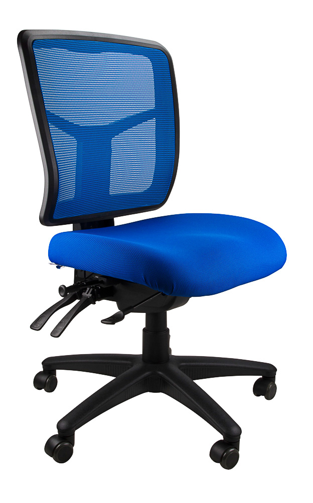 mirae office chair blue ergonomic