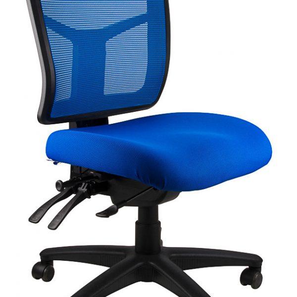 mirae office chair blue ergonomic