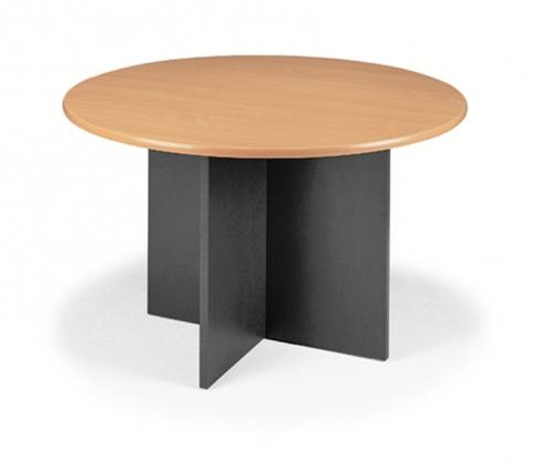 Merlin Round Meeting Table X Base