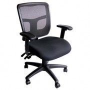 Mesh bright coloured ergonomic office chair