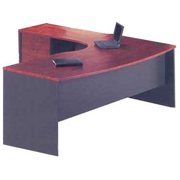merlin radial executive desk set
