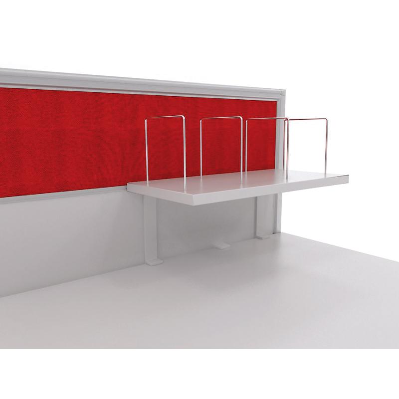 Axis Desk Mounted Shelf 600W X 300D fice Way