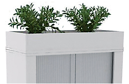 Tambour with planter