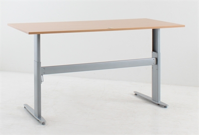 Conset Sit Stand Height Adjustable Desk