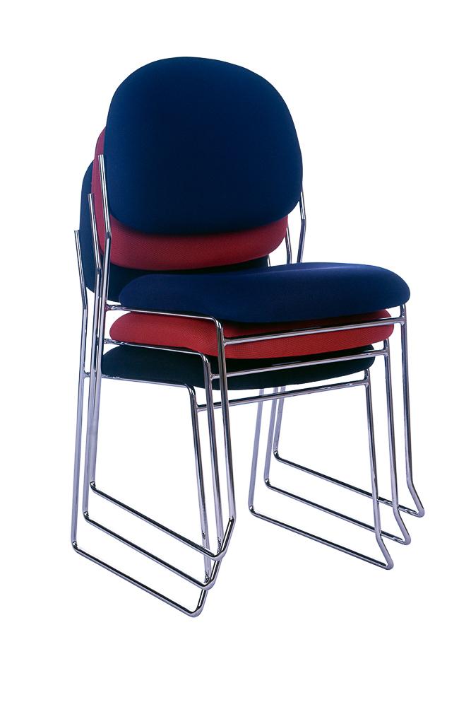 Rod Chrome Frame Visitor Chair