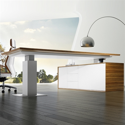 evolution sit stand desk