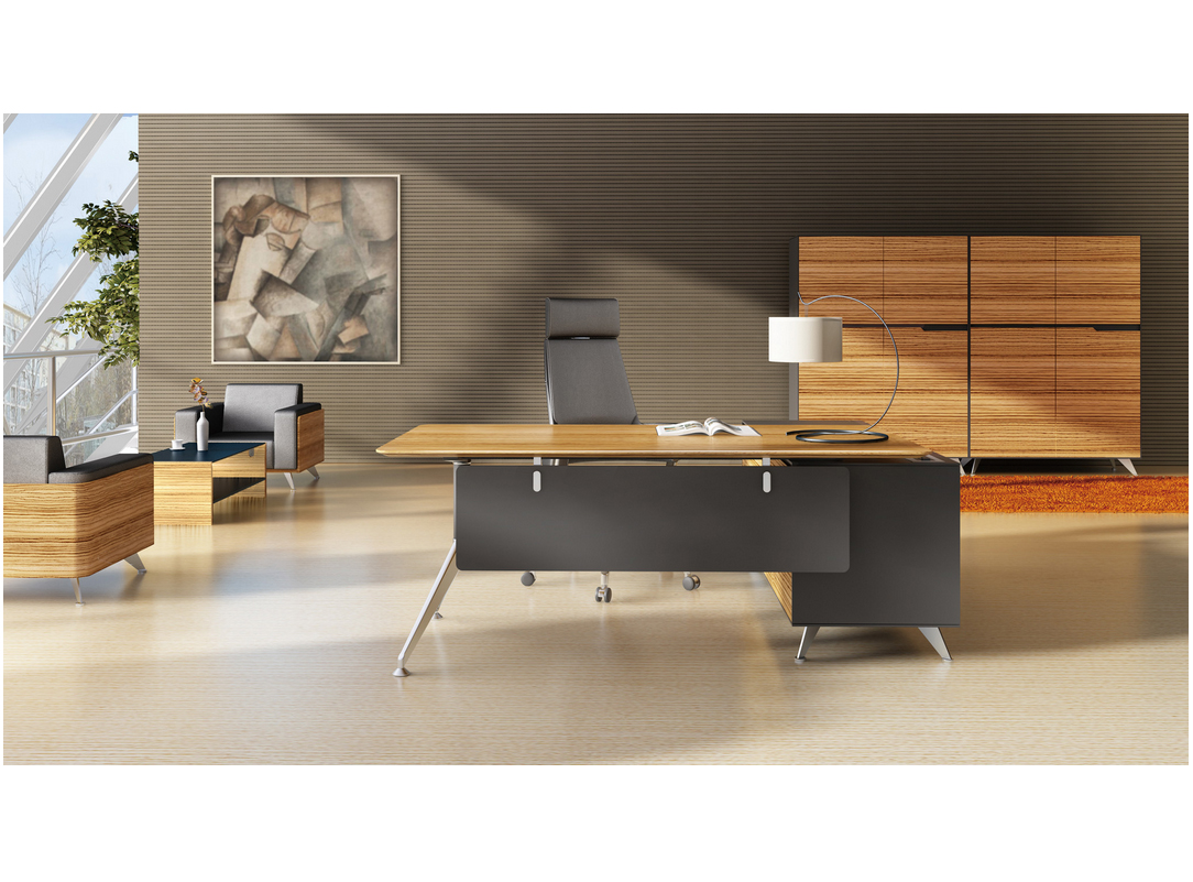 Executive Office Furniture: Novara Executive Desk Series