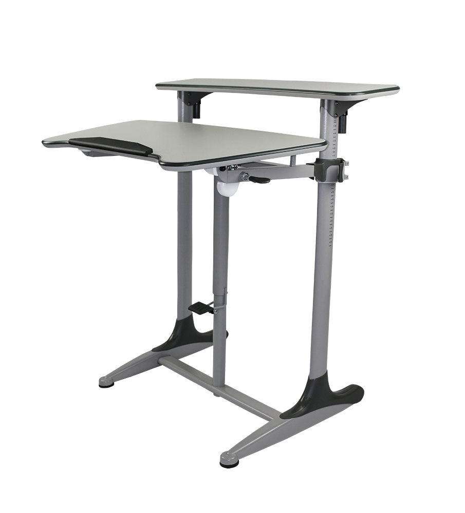 taskmaster sit stand desk tilt adjustable officeway office furniture melbourne. Black Bedroom Furniture Sets. Home Design Ideas