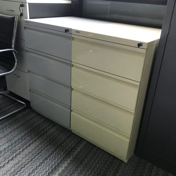 Coform 4 Drawer Filing Multimedia Cabinet