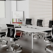 Diamond Boardroom Table 2 Pod