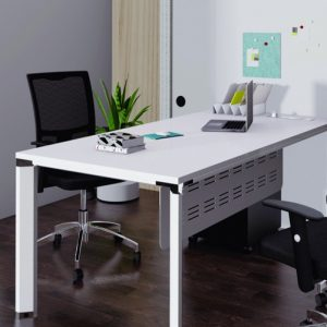 Diamond Solo Desk with Modesty Panel