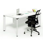 Diamond Solo Desk with Modesty Panel and Mobile Pedestal