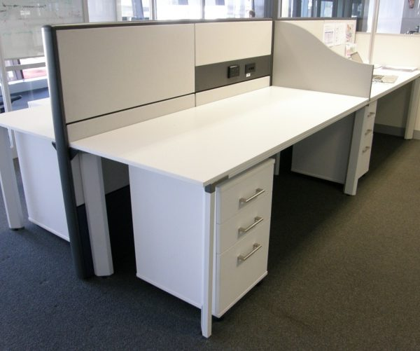 Diamond Desks, Ergotile Screens, Mobile Pedestals