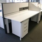 Diamond Desks, Ergotile Screens, Mobile Pedestals