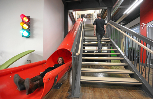 Google Office Slide