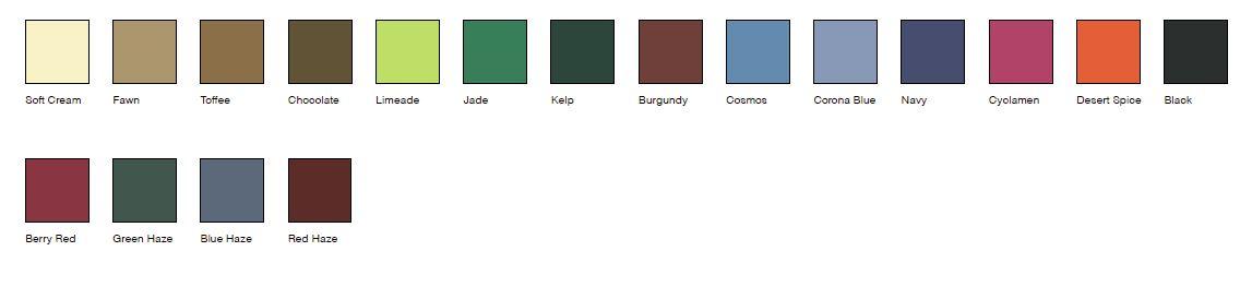 Melana colours