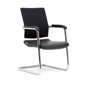 Visitor Chair with Ergonomic Support