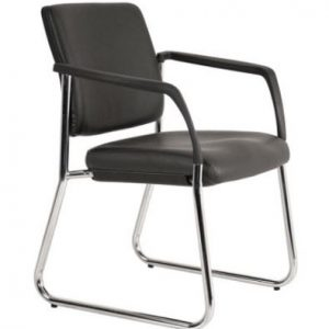 lindis sled base visitor chair