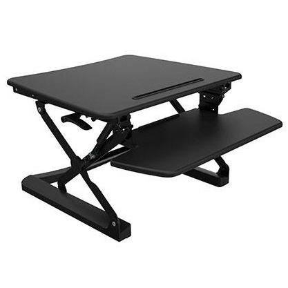 desk top sit stand Rapid Riser Small