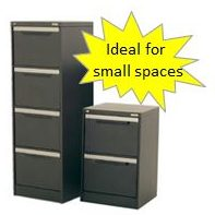 compact filing cabinet small