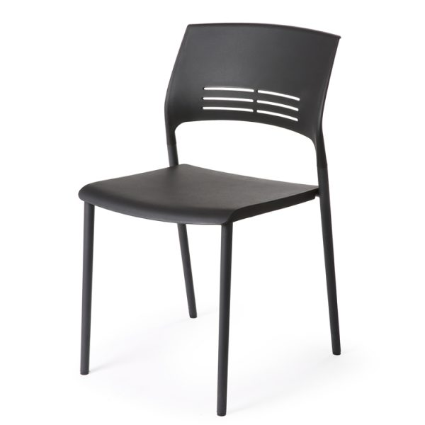 Eternia Hospitality Stacker Chair black ys313