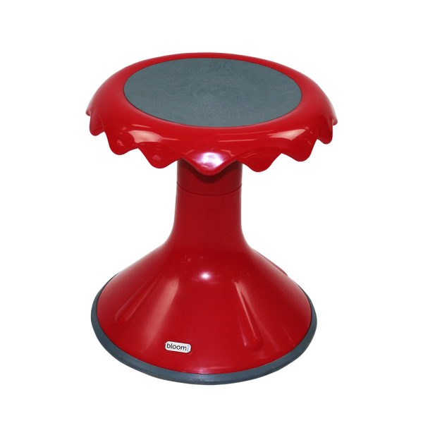 bloom active stool seat melbourne red