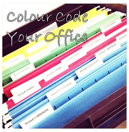 colour code your office