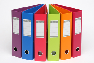 coloured lever arch folders dandenong