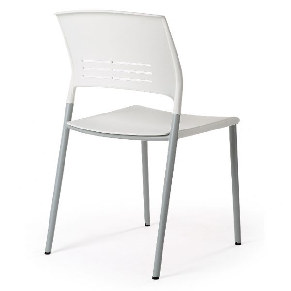Eternia Hospitality Stacker Chair white YS313