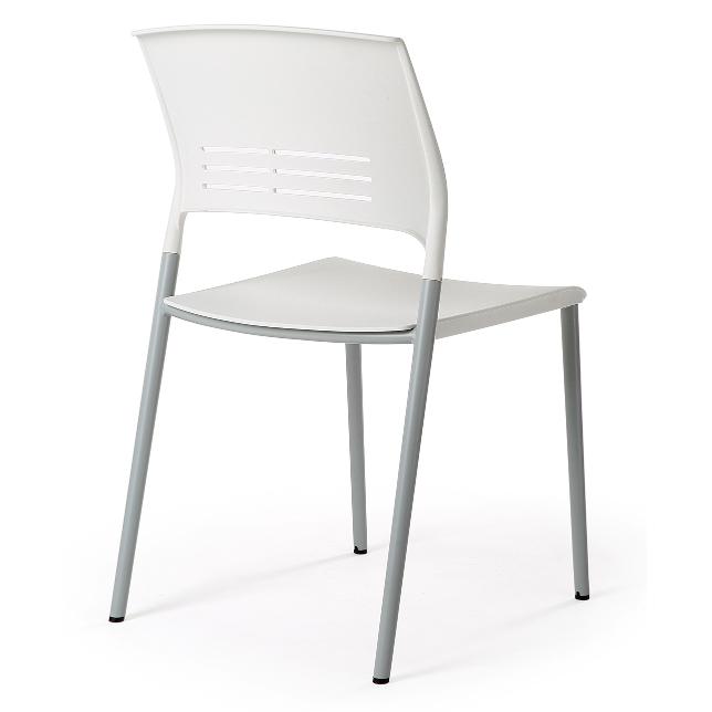 Eternia Hospitality Stacker Chair white YS313