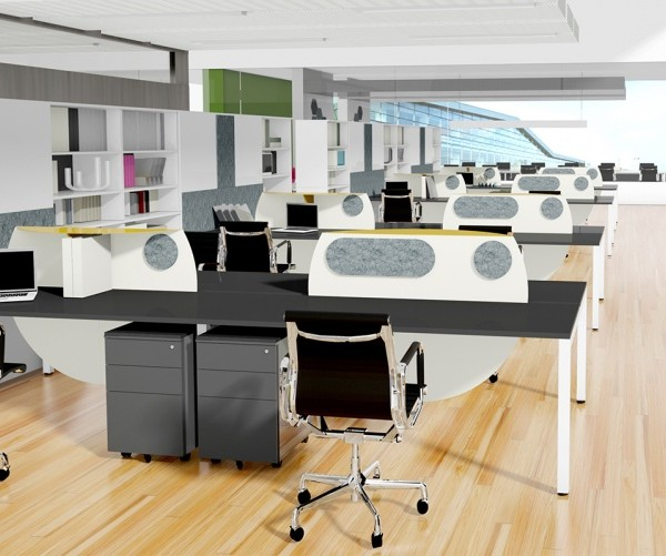 Open plan office design Melbourne