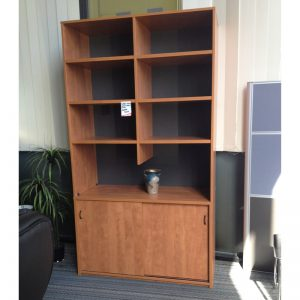 Strong storage buffet and hutch cupboard for office