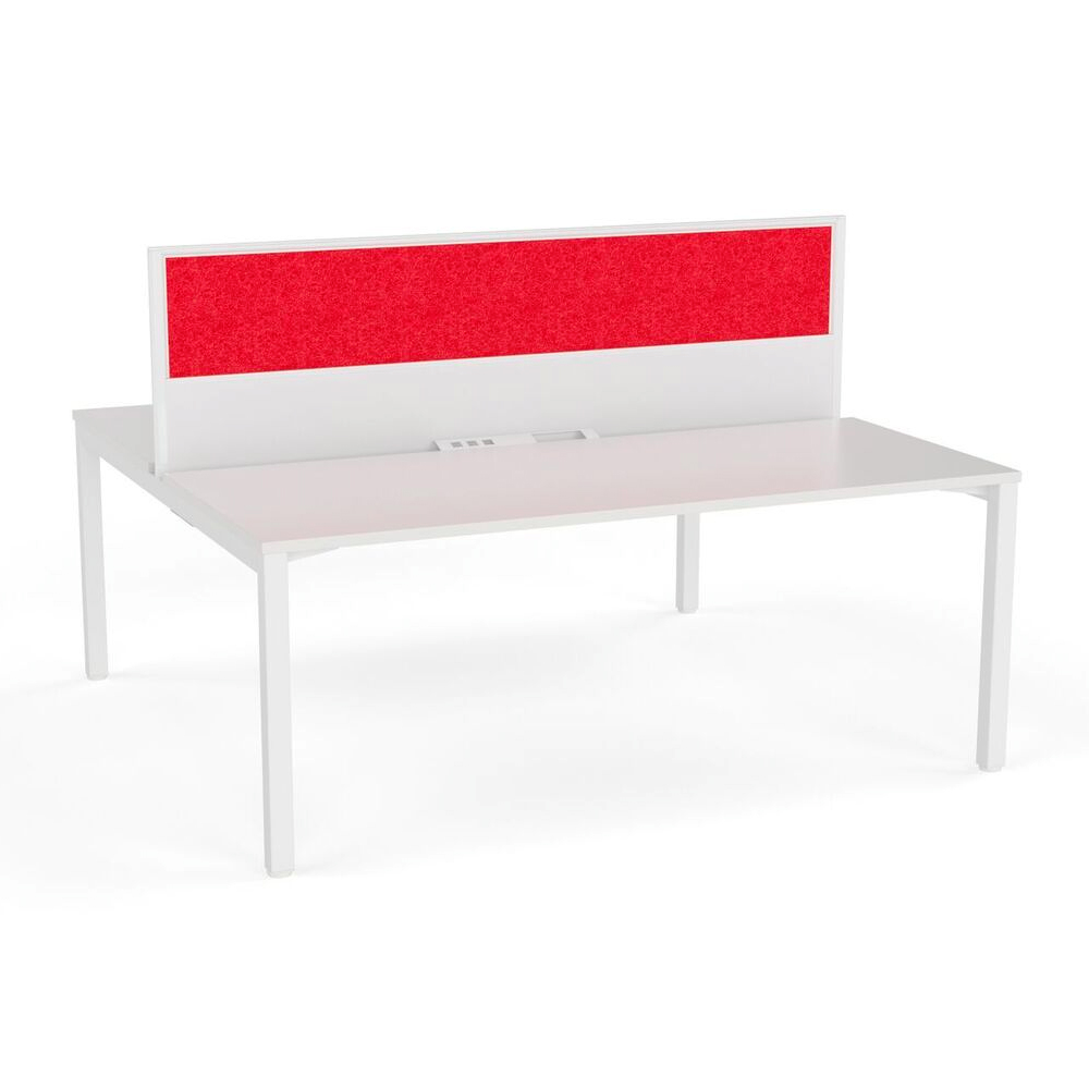 Axis Double Sided Desk with Central Screen Ignite