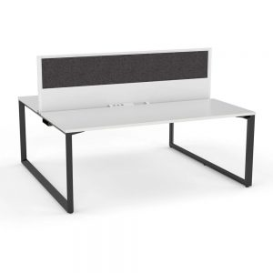 Anvil Double Sided Desk Central Screen