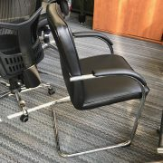 Monaco visitor chair clearance