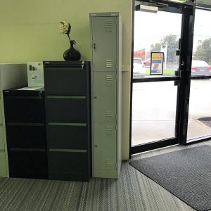 Coform Locker 3 Tier 305mm – Silver Grey