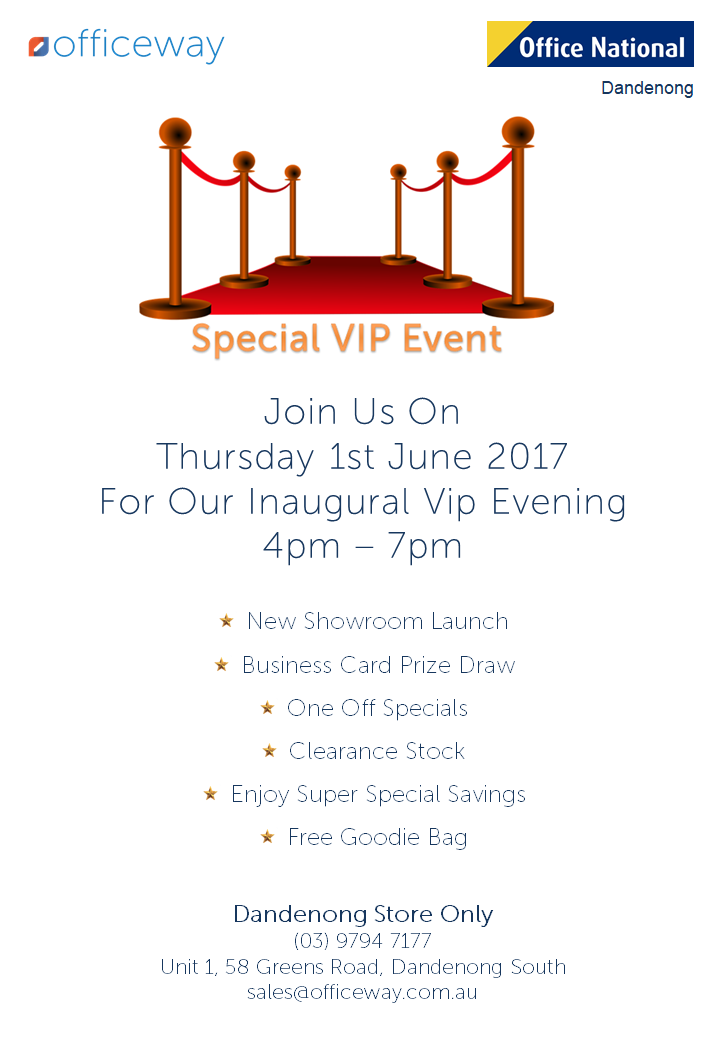 VIP Event Officeway Office National 2017 Dandenong Melbourne
