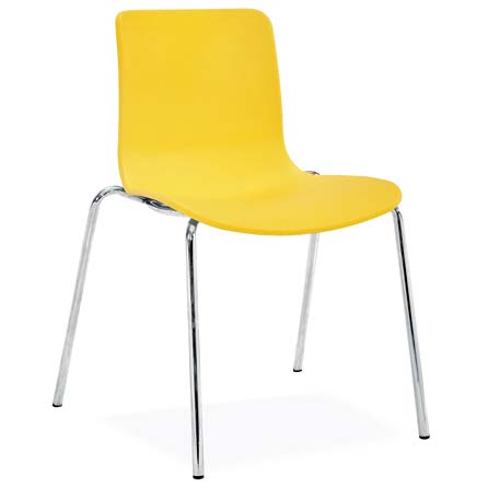 Modern Visitor Chair in Bright Colours