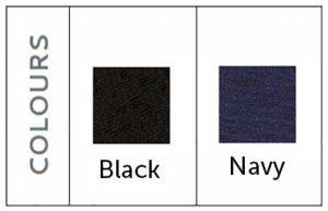 black navy fabric