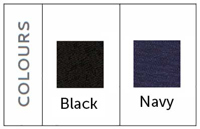 black navy fabric