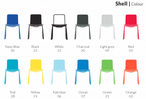 Acti Chair Colour Choices