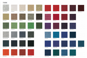 think fabric selection