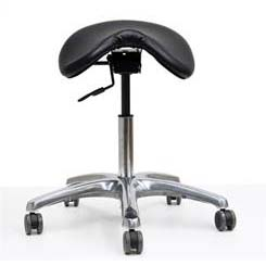 Werk Ex Saddle Chair Black